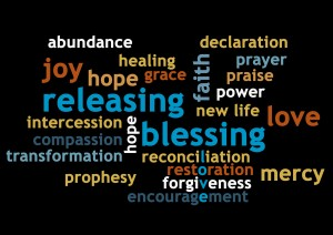 blessing word cloud copy